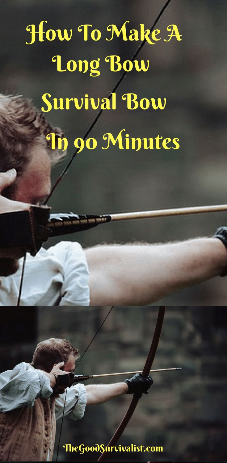 This long bow survival bow is great! The following video will show you how to make it the easiest way in under 90 minutes. Please see the notes section below the video which will give you some added insights.