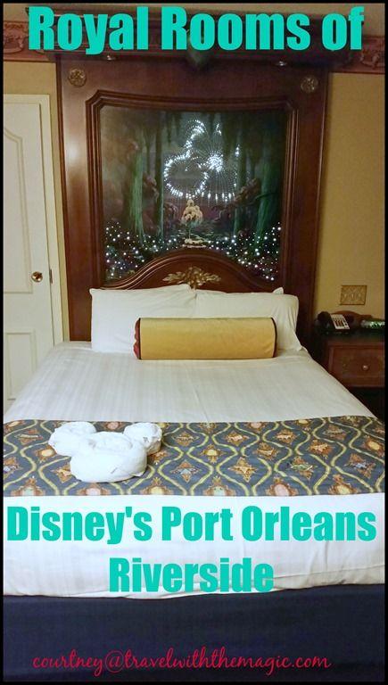 Royal Rooms Of Disney S Port Orleans Riverside