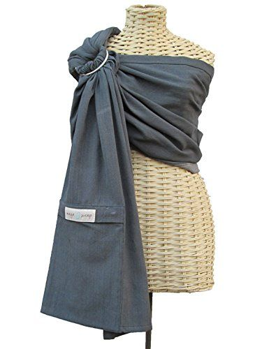 Maya Wrap Lightly Padded Ring Sling - Graphite - Small Maya Wrap http://www.amazon.com/dp/B00IZKLX12/ref=cm_sw_r_pi_dp_x8MIwb1PT3P0D