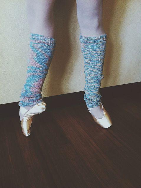 Knitting Patterns Galore - Ballerina Leg Warmers