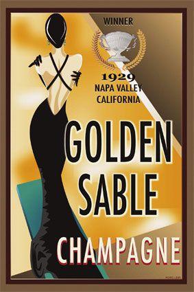 Golden Sable Champagne (1929)