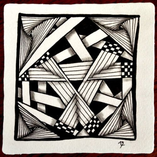 Straight Line Art Patterns : Best images about zentangles doodles on pinterest