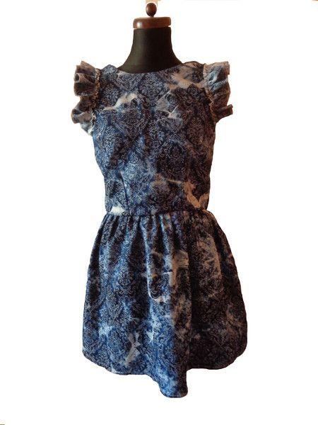 sukienka jeansowa unikatowa - gabrielahezner - Sukienki koktajlowe
