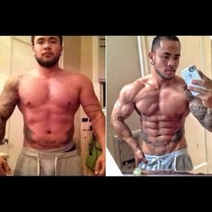 Lean Muscle Body Before And After Dude got ripped! #men ...