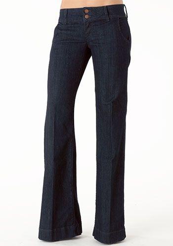 Alloy.com: Piper's Closet Double Button Stretch Trouser Jean :) Cute! Plus size available