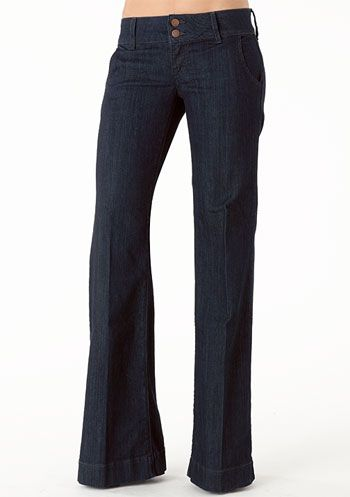 Piper's Closet Double Button Stretch Trouser Jean