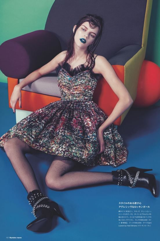 Antonia by Sofia Sanchez and Mauro Mongiello for Numero Tokyo September 2015