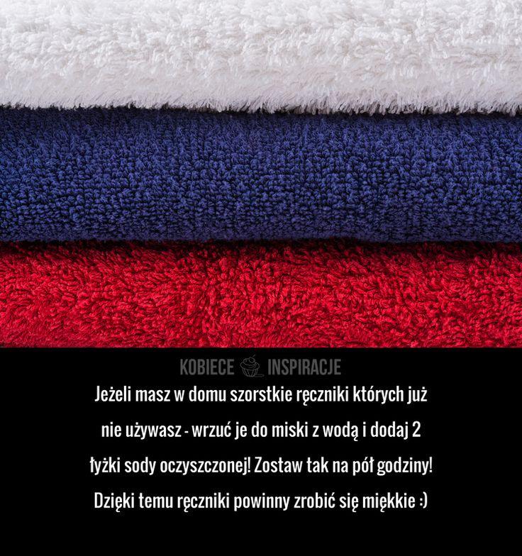 JAK ZREANIMOWAĆ szorstkie ręczniki?