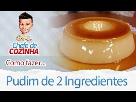 No vídeo de hoje você irá aprender como fazer Pudim de 2 ingredientes que vi na Ana Maria Braga Siga-me: Facebook: https://www.facebook.com/canalchefedecozin...