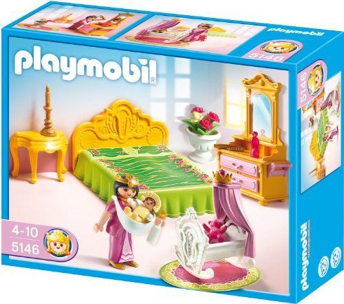 Playmobil Royal Bed Chamber With Cradle By Playmobil 14