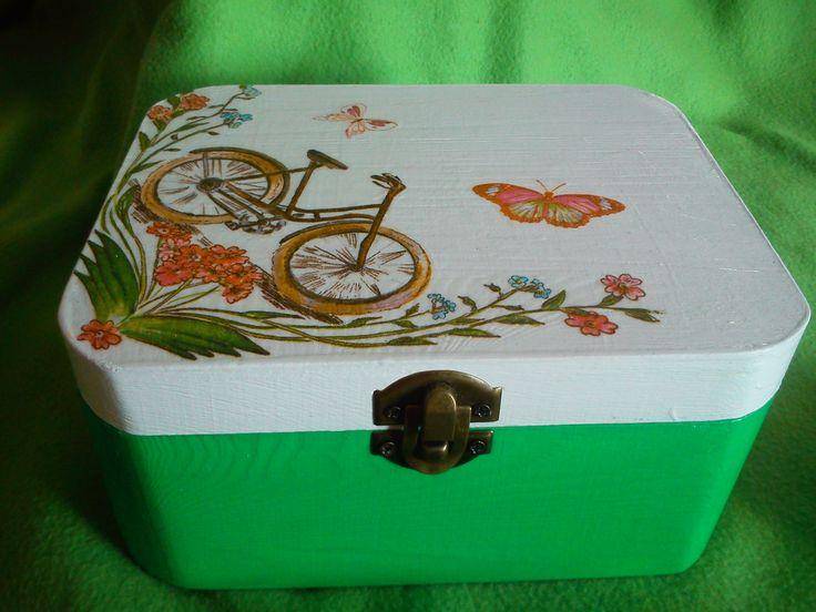 pudełko na prezent - rower
