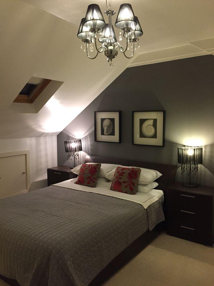 Flat Makeover With Farrow Amp Ball Moles Breath Attic Bedroom Small Small Bedroom Ideas On A