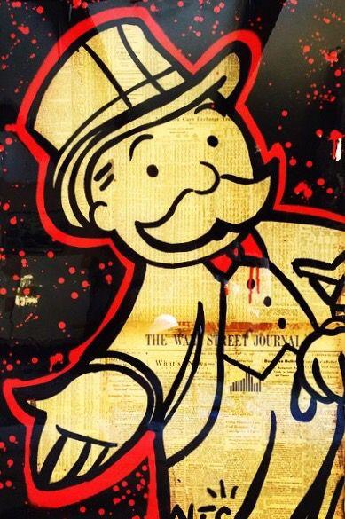 Street Artist Alec Monopoly