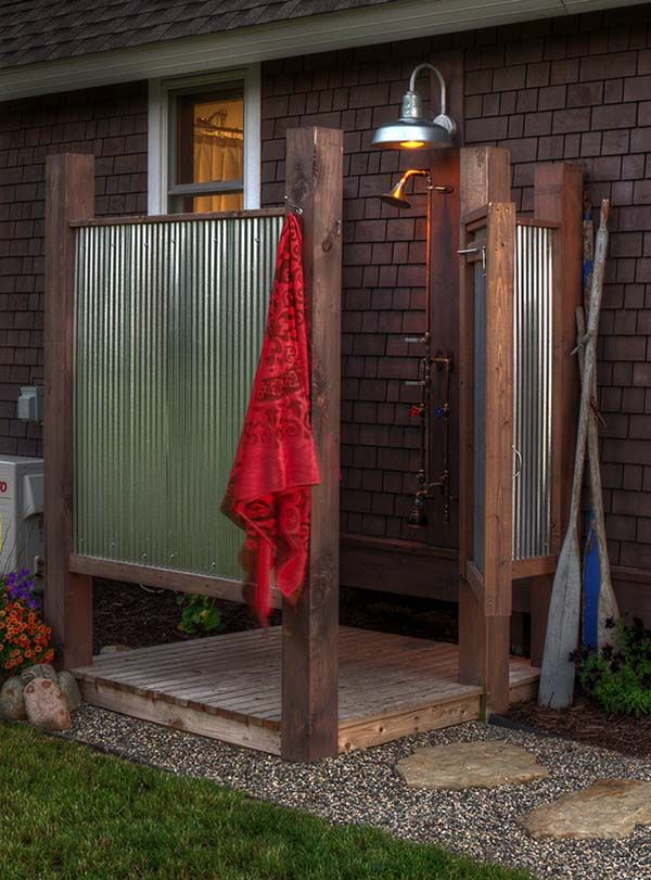 25 best ideas about outdoor bathrooms on pinterest outdoor spa