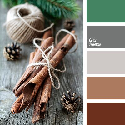A perfect example of a combination of colours which are suitable for decoration of New Year and Christmas gifts. As well, this palette will look good in th.