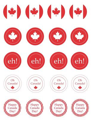 Canada Day Printables and Ideas! #thewisesage The Wise Sage #CanadaDay Canada Day