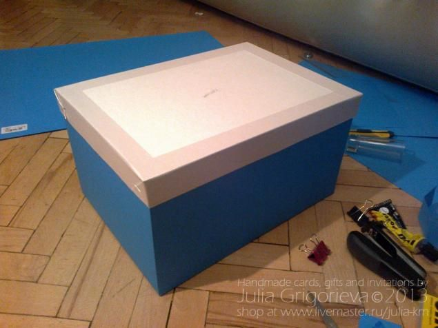 Красивая коробка для упаковки свадебного подарка или прочих нужностей - Ярмарка Мастеров - ручная работа, handmade
