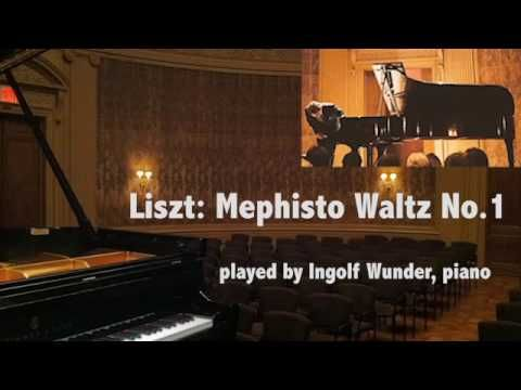 Ingolf Wunder - F. Liszt, Mephisto Waltz No. 1
