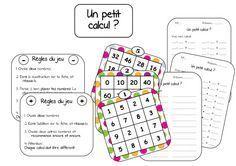 Ateliers mathématiques: le boggle des maths (calculs) simple, beau et efficace!