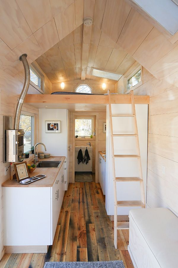 Tongue Amp Groove Quot Hiatus Quot Tiny House In Bend Oregon Tiny