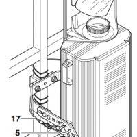 Scanner werden i.d.R. an einem Bügel an Traversen aufgehangen.