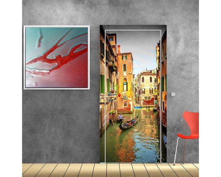 Γονδολιέρης,Βενετία, αυτοκόλλητο πόρτας , δείτε το!