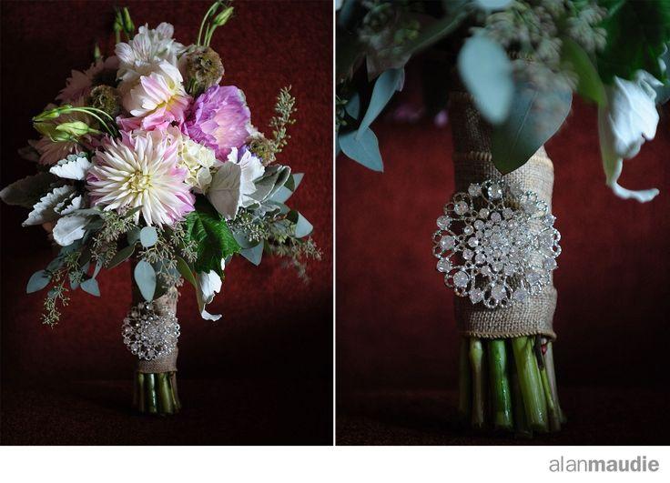 wedding bouquet, Heather Mountain Lodge, Golden, B.C.