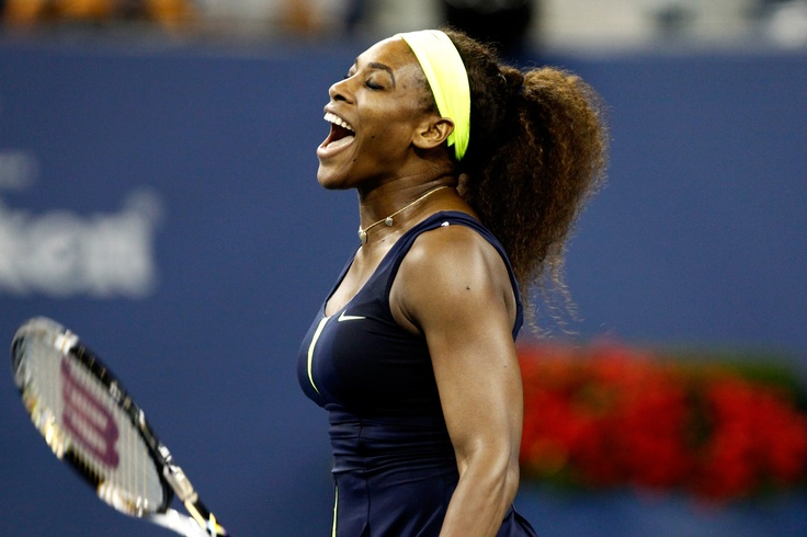 Serena Williams (USA)[4] defeated Ana Ivanovic (SRB)[12]  in the quarterfinals of the 2012 US Open - Philip Hall/USTA
