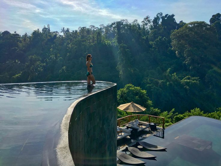 Let the sun shine, let the birds sing. Let the wind blow gently through your skin. Let go, be free  | Bali | http://zeebalife.com/best-hotels-bali-experience-hanging-gardens-bali/ #zeebalife