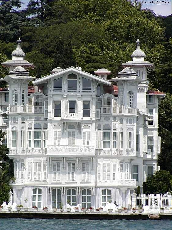 The yalı (waterfront mansion) was first constructed for ...