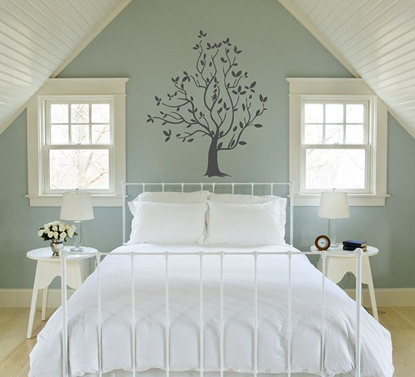 Tree Wall Decals Trees Decal Nursery Tree mural Vinyl Wall Decal Home Decor bedroom Decor kik321