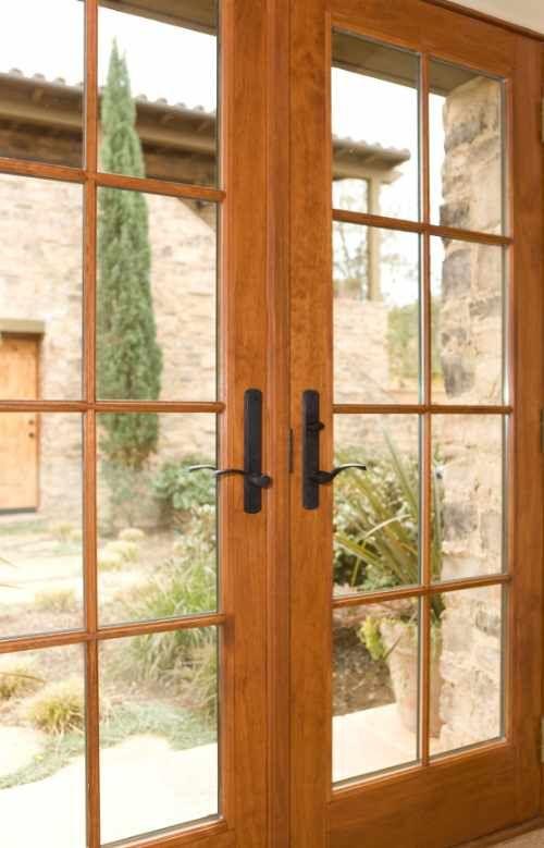 Modern Home Interior Design: Modern French Doors Interior Design Ideas