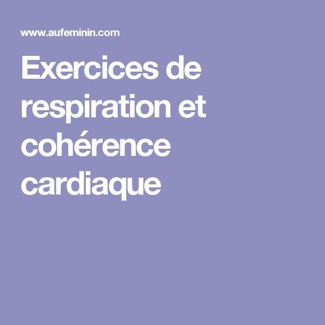 Exercices de respiration et cohérence cardiaque