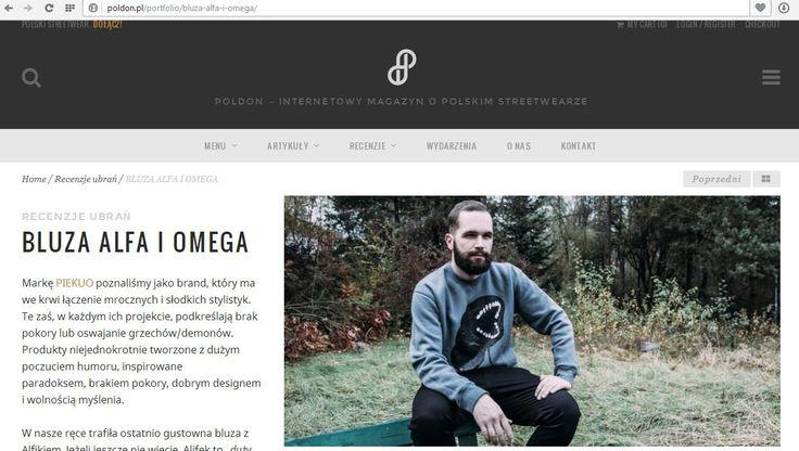 Reviews na POLDONie, najlepszym miejscu w polskich internetach dla streetwearu  #funandrebel #media #streetwear #piekuo #stylizacje  #sport  #moda #tshirt #koszulka #polskidesign