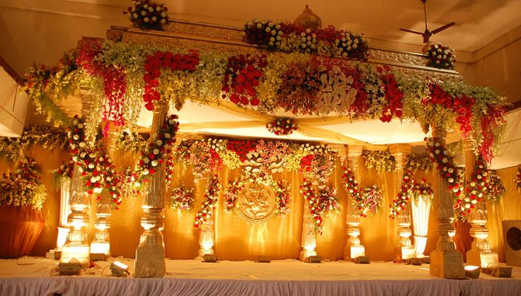 The Magnificient & beautiful decor will be loved by all.. #wedding #weddingstage #stagedecor #bookeventz