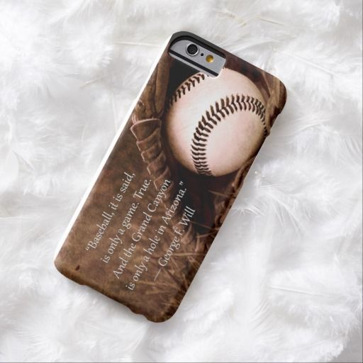 Awesome iPhone 6 Case! The game of baseball iPhone 6 case. It's a completely customizable gift for you or your friends.
