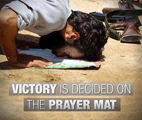 Prayer helps everything.
