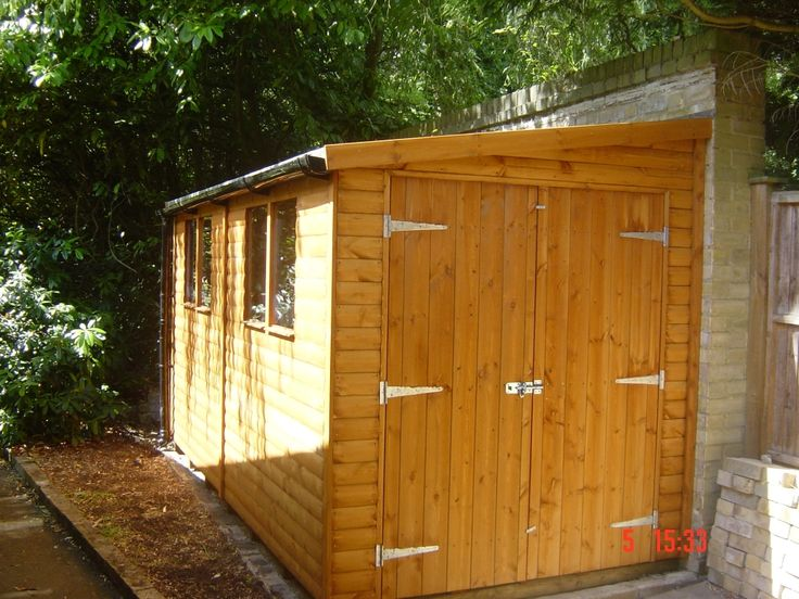 Top 25 best lean to shed ideas on pinterest - Garden sheds with lean to ...