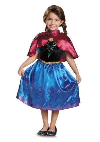 frozen traveling anna classic toddler costume 5 favorite disney princess costumes for girls 2015 - Halloween Princess Costumes For Toddlers