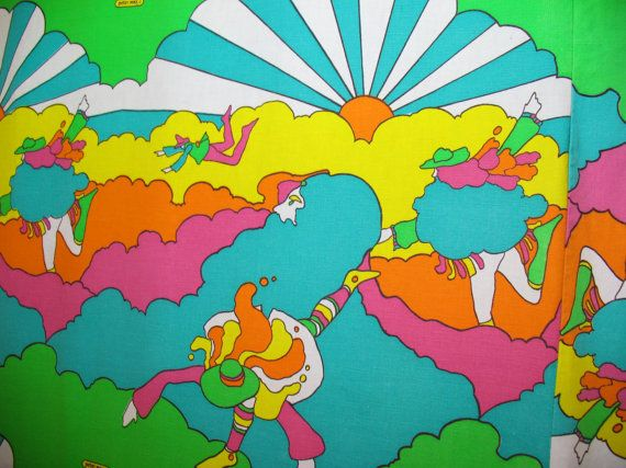 peter max bedspread on etsy