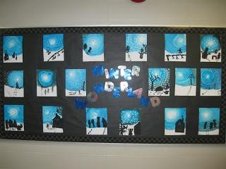 Terri's Teaching Treasures: Winter Wonderland Art