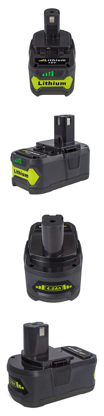 Batteries and Chargers 122840: New!!For P108 Ryobi 18 Volt 18V One Plus Lithium Ion High Capacity Battery 4.0Ah -> BUY IT NOW ONLY: $32.39 on eBay!
