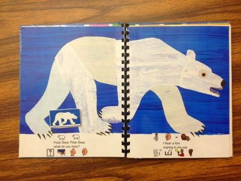 Eric Carle Adapted Books and More - downloads for you! Ways to adapt books with links to symbols to use