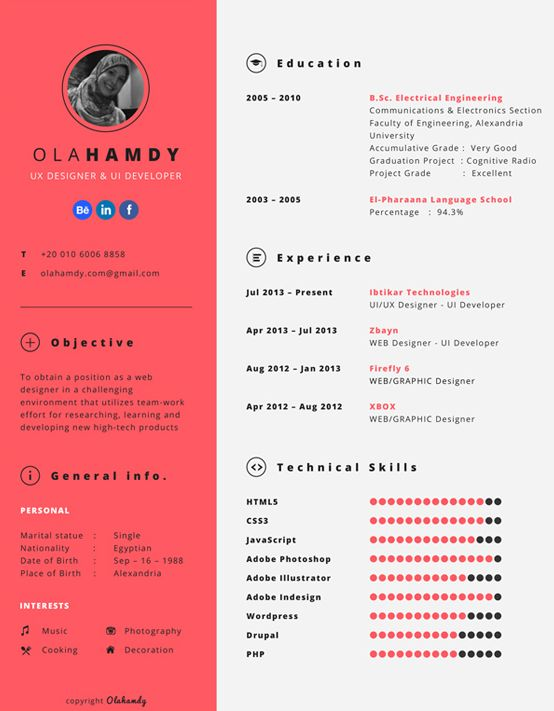 12 best CURRICULUM images on Pinterest | Curriculum, Free resume and ...