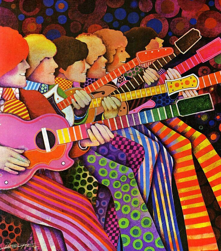 32 best images about psychedelic art on pinterest mars for Trippy house music