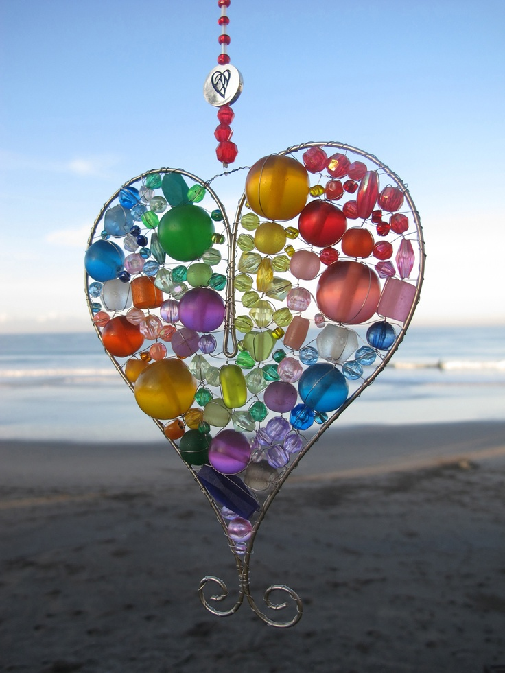 In any room, our adorable light catchers will transform your space into an enchanted land of light and sparkling jewels! Our Large Rainbow Heart can be ordered on www.heroandleander.com at a price of $19.50