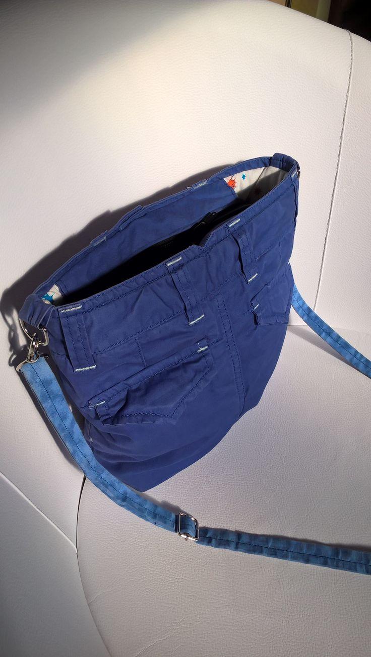 táska gyereknadrágból - háta