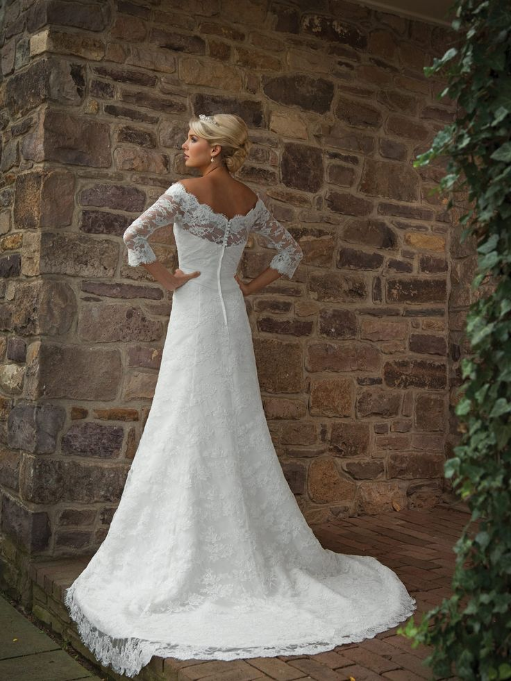 41 best Wedding Dresses images on Pinterest | Gown wedding, Bridal ...