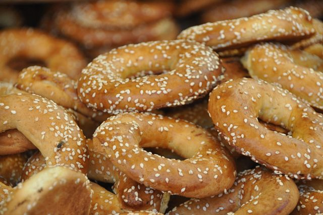 Family-friendly Barry's Bagels in the Westgate Shopping Center off of Jackson & Maple is one of Ann Arbor's favorite bagel places.