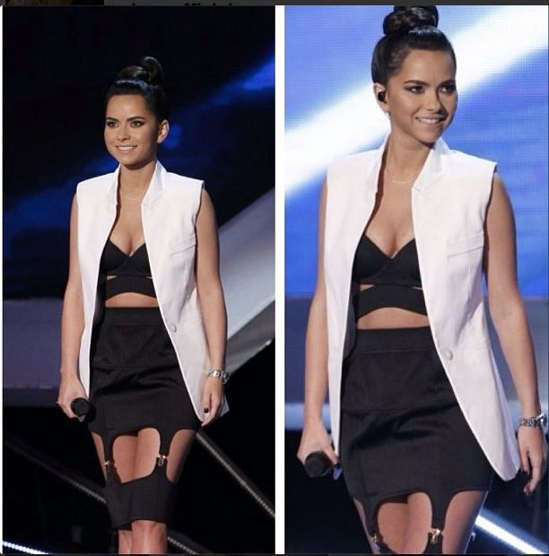 Black and white outfit..inna...stylish